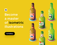 Tutorial: Become a master of isometric illustrations—
