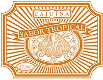 Rótulo Cajuína - Cajuína Label