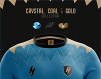 Crystal, Coal & Gold Collection