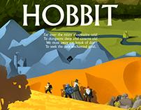 Hobbit (J.R.R. Tolkien) poster