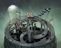 Concept Art for Bridgestone