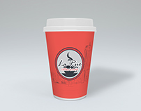 Coffee cup design for LaRue Coffee and More