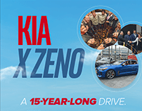 The Kia X Zeno journey: An infographic