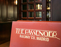 The Passenger Railway Co. Madrid / Menus Design
