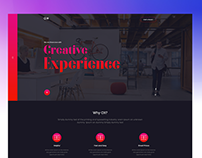 Digital Agency Homepage Exploration