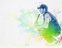 Proyecto ilustraciones para Escuela Golf