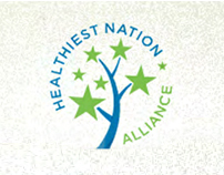 Healthiest Nation Alliance // Brand Site (Non-profit)