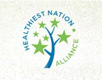 Healthiest Nation Alliance // Brand Site (Non-profit)
