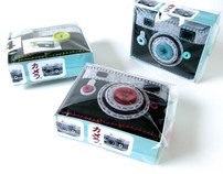 Package Design for My Felt Camera/iPhone Cases