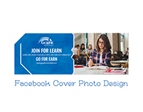 Facebook Cover Photo Design for Graphic School