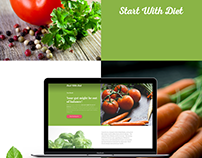 Healthy diet website