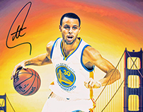 Steph Curry Official NBA Store Memorabilia