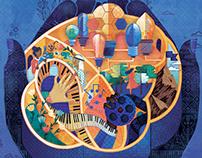 NYU Abu Dhabi Brand Identity