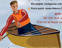 Bayou Land Conservancy Jones Event Flyer
