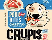 CRUPIS (dog treats) Rebrand