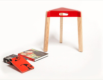 Tripod Table by Strand Design