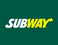 Subway // Green Lantern Microsite & Mobile Campaign