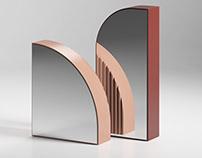 Free 3d model / Arceau Mirrors by Ligne Roset