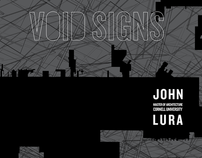 Void Signs - iPad App