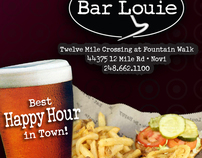 Bar Louie Tavern & Grill; Novi, MI