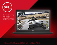 Landing Page Dell Inspiron 15 Gaming