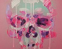 SkullFace painting