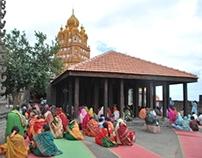 Conservation of Yamai temple complex at Kinhai, Satara