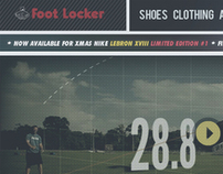 Foot Locker Website Re-Brand
