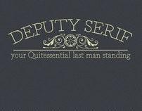 Deputy Serif Font