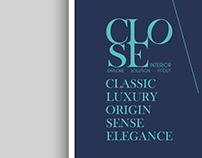 CLOSE Intrior Design