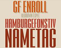 GF Enroll typeface (латиница, кириллица)