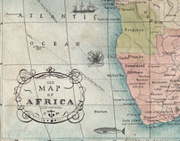 Illustrated African Map