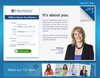 2012 eHarmony Australia Homepage