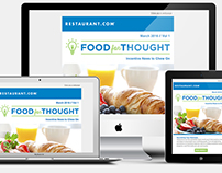 Food For Thought: B2B Newsletter Design