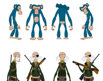 Character Designs (New Animated Short - Untitled)