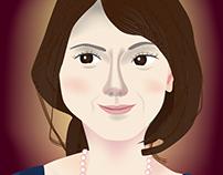Free PDF #3: Smiling Woman