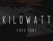 KILOWATT - FREE FONT
