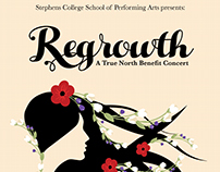 Regrowth Benefit Concert Poster