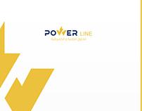 POWER LINE Logo & Identity