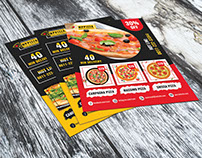 Pizza Promo Flyer/Poster