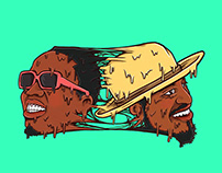 OUTKAST DUO BIG BOI X ANDRE 3000