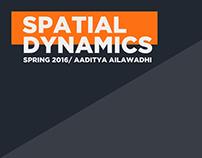 Spatial Dynamics Spring 2016