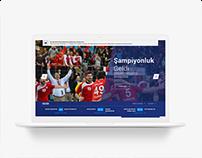 Türkiye Hentbol Federasyonu Web Tasarımı