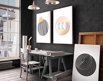 Circle series poster set