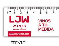 LJW - Diseño de pieza promocional c/catálogo