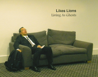 Likes Lions - Living As Ghosts (Single artwork)