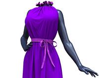 Marvelous Designer Maxi Dress - 3D Clothing