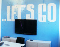 Office decoration for digital agency Vertic in New York