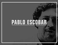 Graphisme d'information - Pablo Escobar