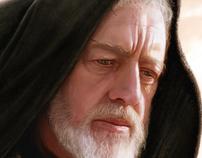 Pintura Digital - Obi-Wan Kenobi